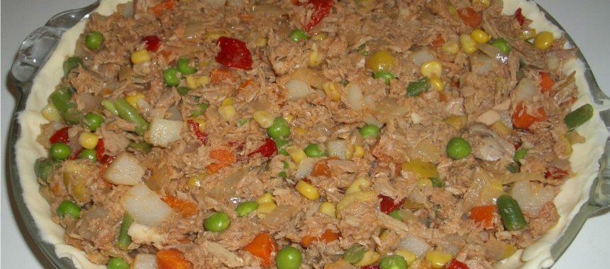 Empanada de Atún con Verduras