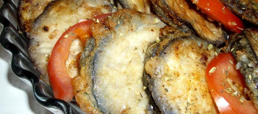 Tarta de Bolsillos de Berenjena