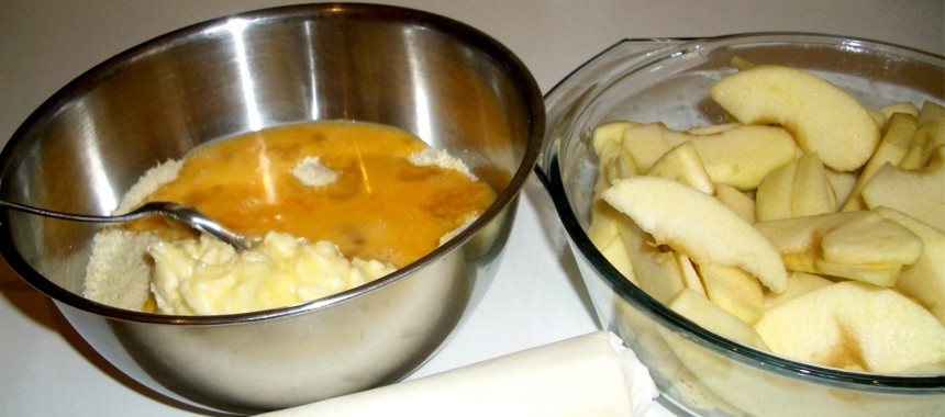 Tarta de Manzana con Frangipane