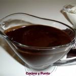 Salsa de Chocolate Caliente