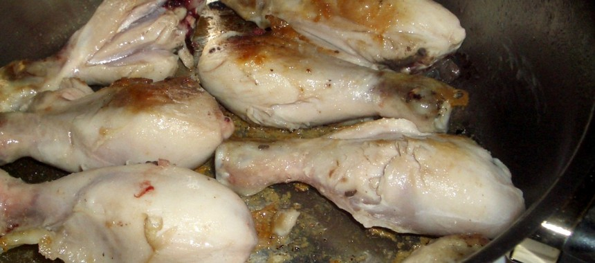 Pollo a la Cazuela