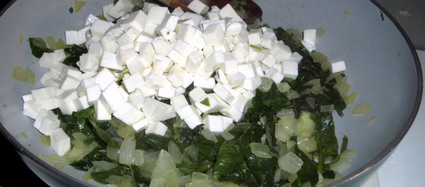 Empanadillas de Espinacas con Queso