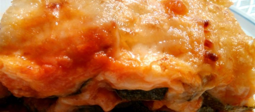 Pastel de Calabacin con Pollo