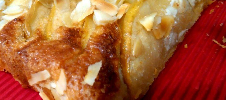 Tarta de Manzana con Almendras