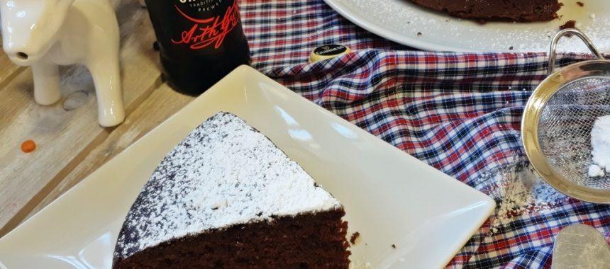 Bizcocho Guinness