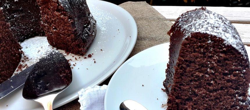 Corona de Chocolate en Microondas
