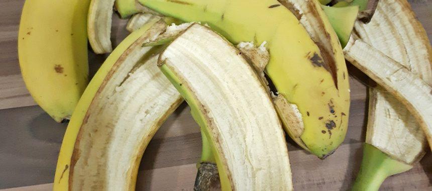 Abono con Cáscaras de Plátano
