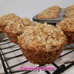 Saludables Muffins de Plátano, Avena y Nuez