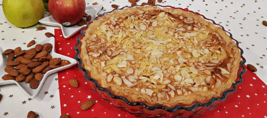 Tarta Normanda – Manzana y Almendra